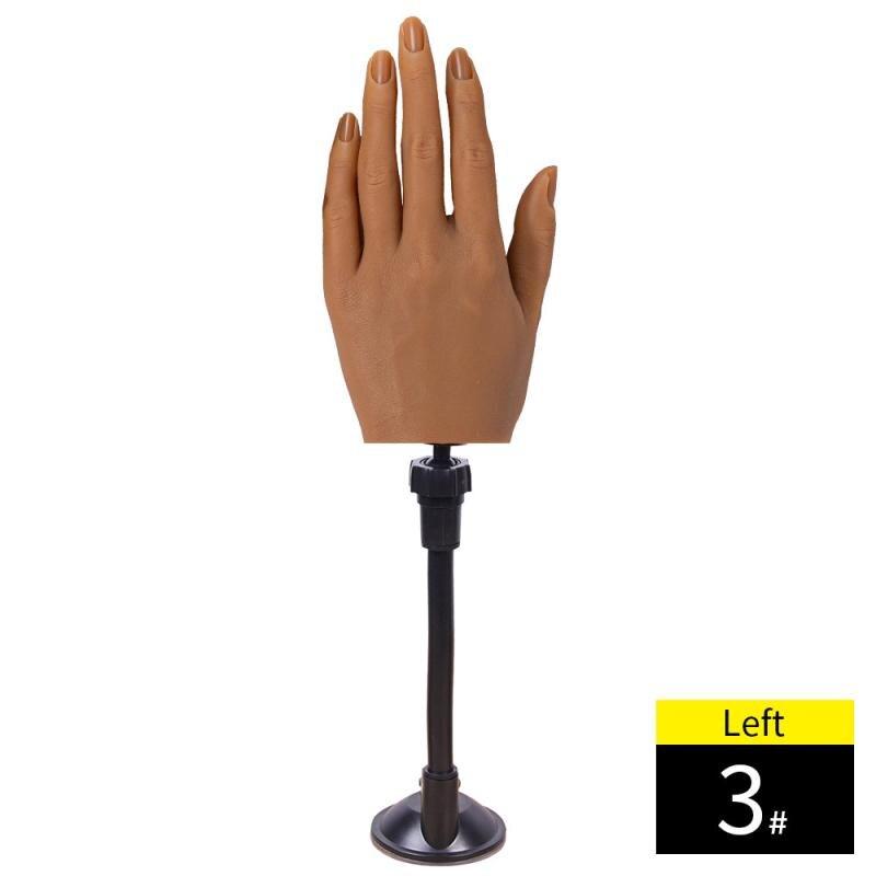 Prática de silicone modelo de mão adulto