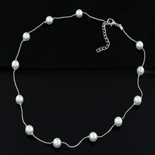 Fashion Pendant Elegant Gift Artificial Pearls Charm Adjustable Jewelry Decorative Wedding Party Women Necklace