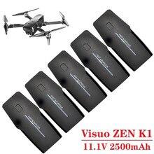Oryginalna ładowarka K1 zestawy 11.1 V 2500 mAh dla Visuo ZEN K1 bateria GPS RC bateria do drona 11.1 V 2500 mAh bateria Lipo