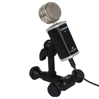 Alctron K5 Professional USB Condenser Microphone Studio Chatting o Recording Condenser Mic for PC Laptop