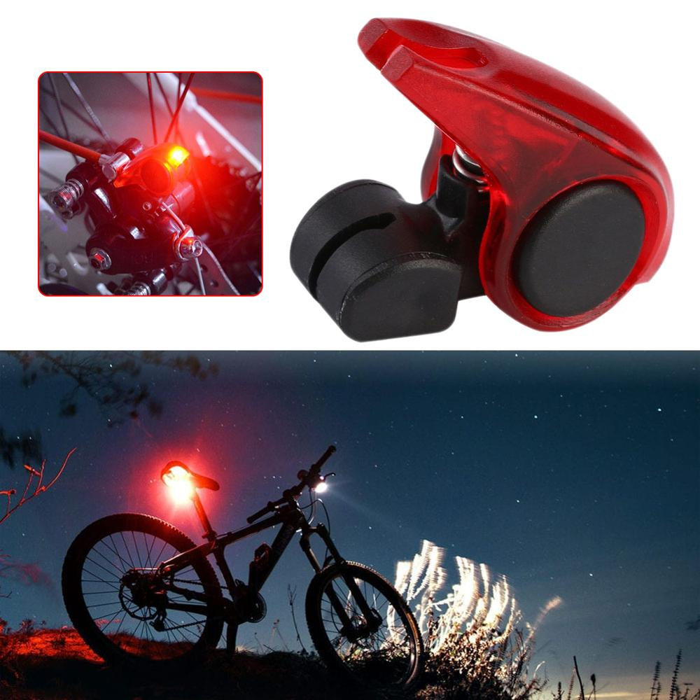 Bicycle Bike Cycling Brake Light Red LED Tail Light Safety Warning Light US