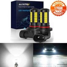 Auxito 2x h11 h8 светодиодный противотуманный фонарь для автомобиля