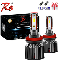 Z8 All In One Dual Color LED Kit Headlight HB3 HB4 H1 H7 H4 H8 H11 H13 9004 881 Tricolor Bulbs 6000K 3000K 4300K White Yellow