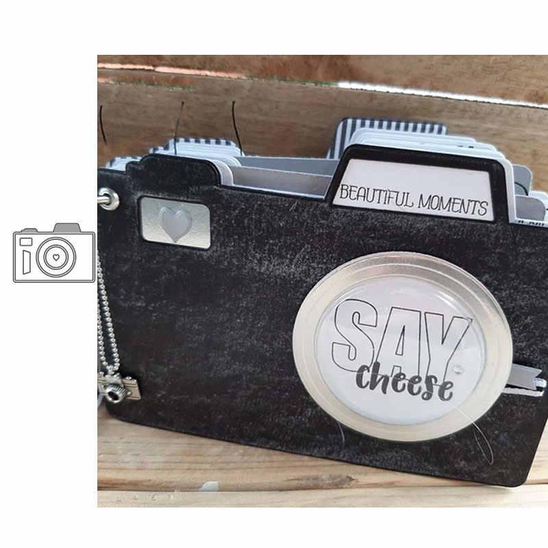 Jc カメラスクラップブッキング用金属切削ダイス金型新ダイカットステンシル手作りツール diy カード作るモデルクラフト装飾