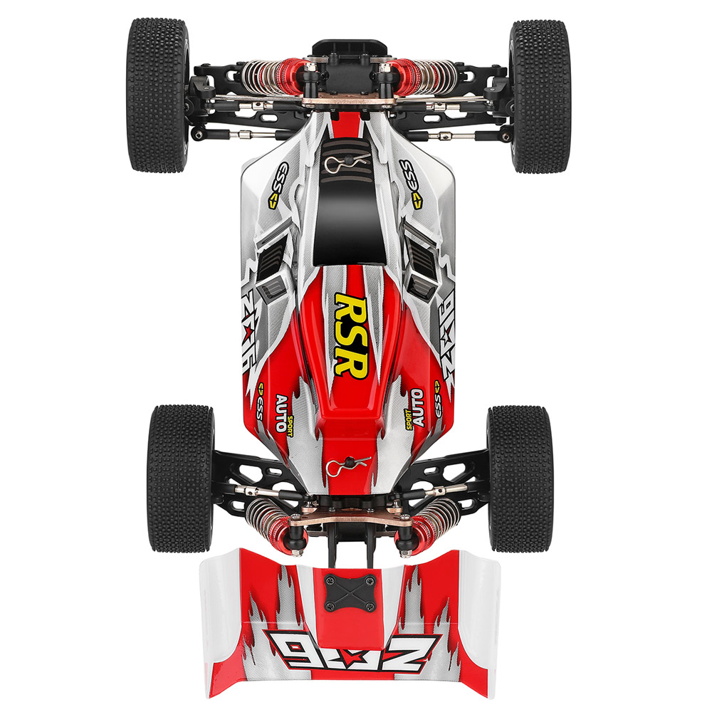 Vehicle-Models-Toys Rc Car Remote-Control High-Speed 60km/H Wltoys 144001 Racing Children