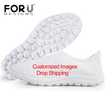 Forudesigns/Женская обувь на плоской подошве с индивидуальным