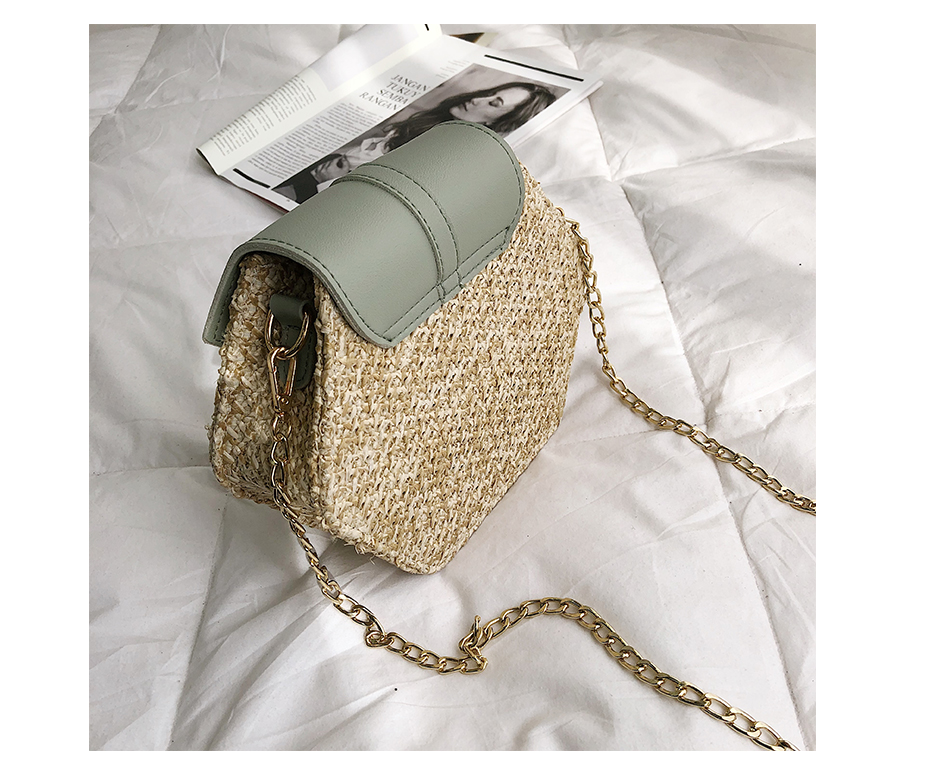 H3a9cc0ef38f84112b049f88290d547e2M - Mulit Style Straw leather Handbag Women Summer Rattan Bag Handmade Woven Beach Circle Bohemia Shoulder Bag New Fashion