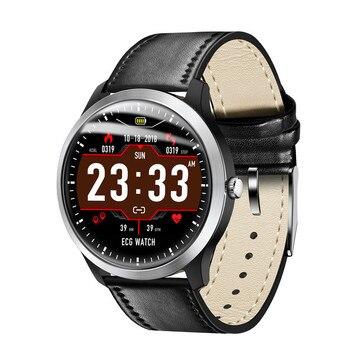 N58 Smart Watch ECG Sports Watch ECG+PPG ECG HRV Report Heart Rate Blood Pressure Test IP67 Waterproof Smart Wristband D30