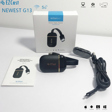 Newest EZCAST G13 5G 4K WIFI Dongle wireless 2 4G 5G real time video mirroring mirascreen