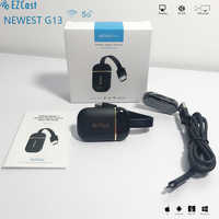 Più Nuovo Ezcast G13 5G 4K Wifi Dongle Wireless 2.4G/5G in Tempo Reale Video Mirroring Mirascreen anycast Airplay Dlna 5G Tv Stick