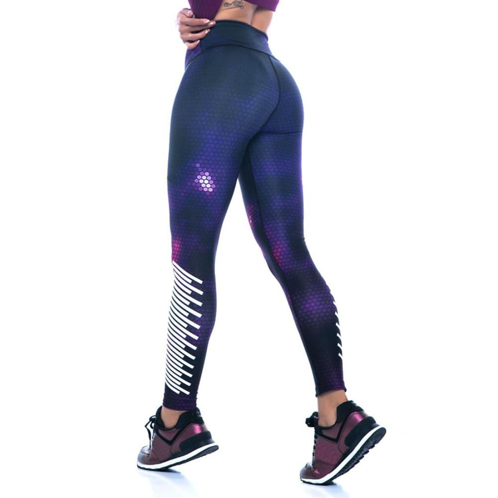 Women Push Up Sporting Outdoor Polyester Workout Skinny Leggings Elastic Force Casual Breathable High Waist Fitness Leggings