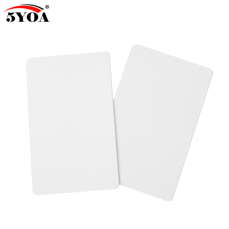 100pcs UID Card 13.56MHz Block 0 Sector Writable IC Cards Clone Changeable Smart Keyfobs Key Tags 1K S50 RFID Access Control