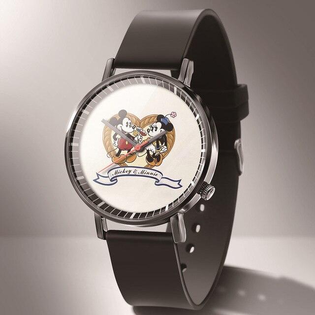 Zegarek Hot New Fashion Mickey женские часы reloj mujer student Cartoon sport Quartz kids часы Relogio feminino Montres