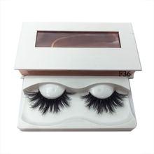 лучшая цена 100% Real 3D Mink Eyelashes Lasting Lashes Natural Long Dramatic Volume Eyelash Extension Makeup Handmade Thick False Eyelashes