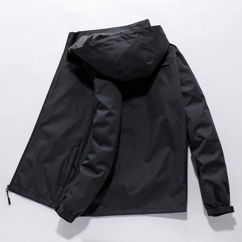 2018 Мужская зимняя утолщенная теплая куртка с капюшоном в стиле милитари, брендовая армейская зеленая куртка, Мужская хлопковая плотная кур... - 6