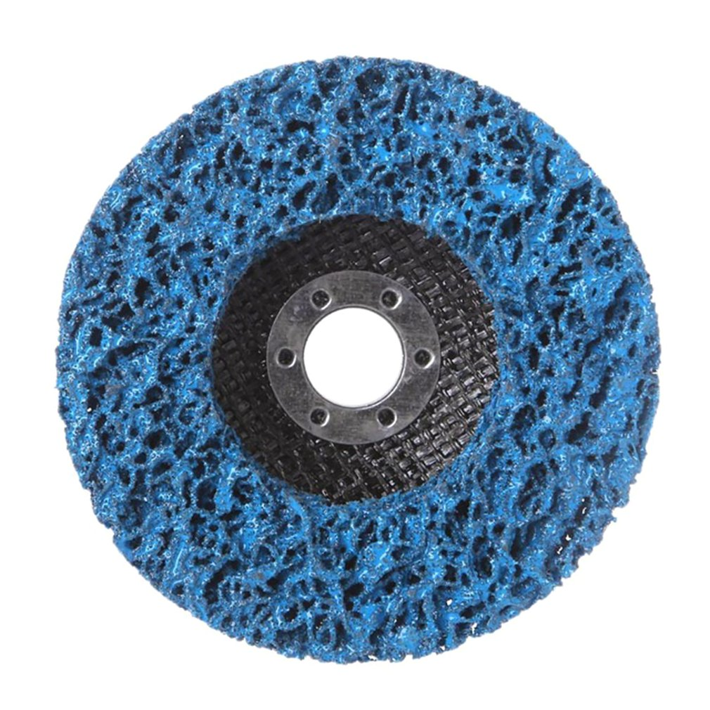 Durable Poly Strip Disc Wheel 125*22mm Wood Metal Paint Rust Removal Clean Abrasive Tools For Angle Grinder Mayitrs