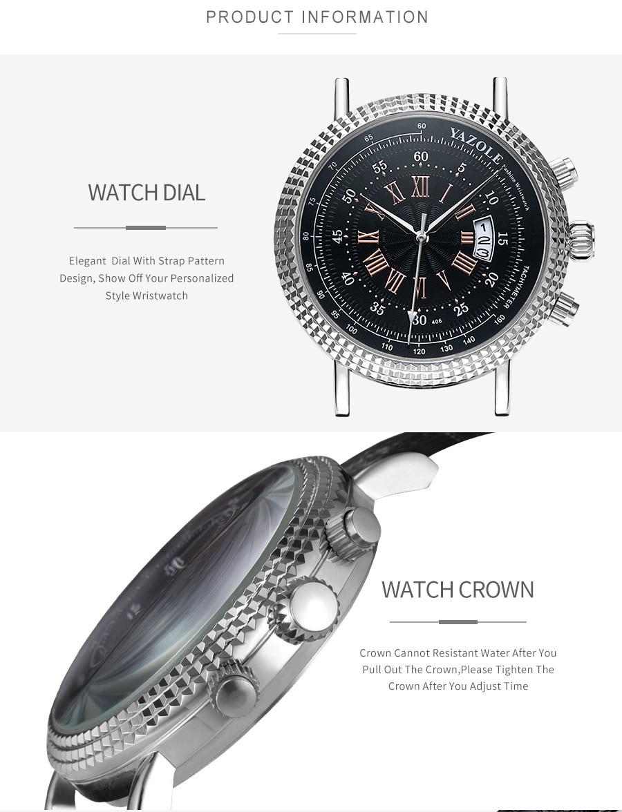 H3a9e12845ec04e0a9e2f2c263124f7e99 Luxury Business Men's Watches relogio masculino PU Leather Strap Hiqh Quality Dress Watch Men Classic Casual Quartz Male Clock