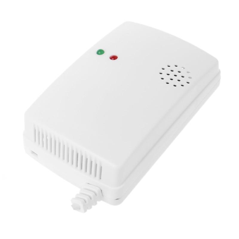Gas Leak Detector Sensitivity Combustible Alarm Coal Natural Portable Warnin(EU Plug)