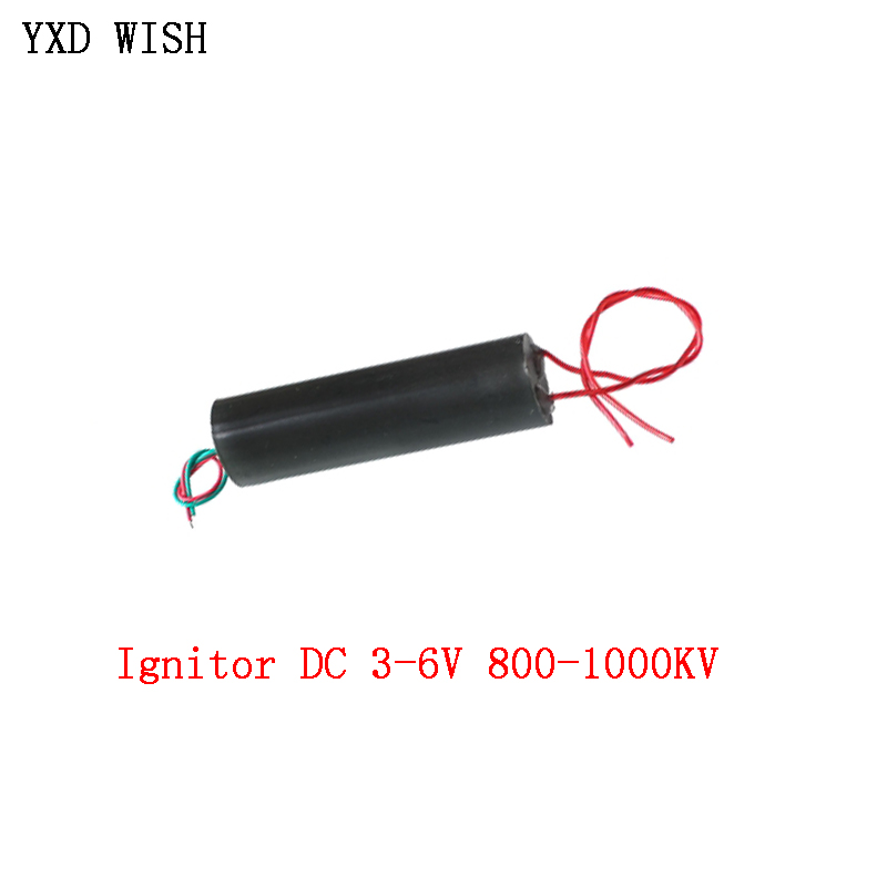 800-1000KV High Voltage Pulse Generator Arc Pulse Ignition Coil Booster Step Up Power Supply Converter Ignitor DC 3-6V