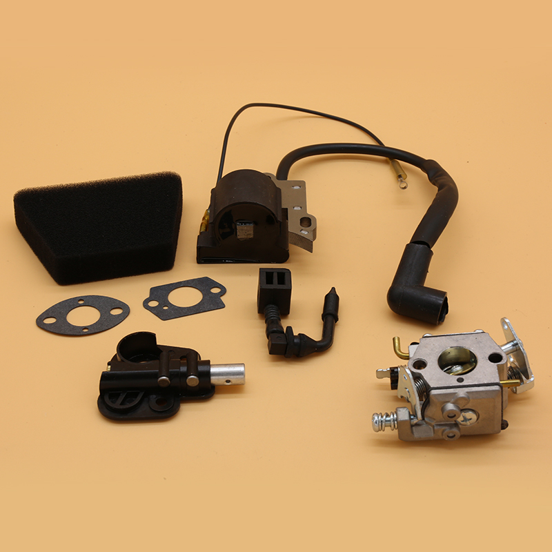 Carburetor Ignition Coil Oil Pump Kit Fit For Partner 350 351 370 371 390 420 Mcculloch Mac 335 435 436 440 441 Chainsaw Parts
