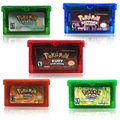 32 бит видео игровая консоль карты для Nintendo GBA Покемон серии с двойным остеклением со змеиным узором на деревянной Флора EnglishLanguageThe первого из...