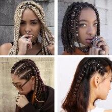 Dreadlock Beads Hair-Braids Braiding-Hair Adjustable Gold/silver-Plated for Starfish-Shell