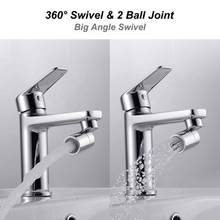 Copper Certified Dual Function 2 Flow Kitchen Sink Aerator 360-Degree Swivel Faucet Sprayer Shower Aerators(China)
