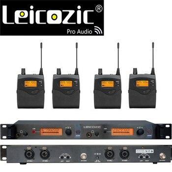 Leicozic BK2050 Беспроводная система наблюдения за ушами беспроводная система контроля сцены SR2050 IEM монитор бодипака
