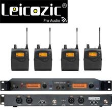 Leicozic BK2050 무선 귀 모니터 시스템 귀 모니터링 시스템 무선 무대 모니터 시스템 SR2050 IEM bodypack 모니터