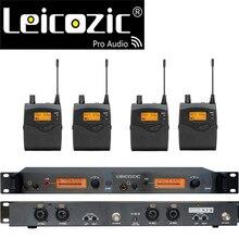Leicozic BK2050 Wireless in ear Monitor di Sistema di monitoraggio orecchio sistemi senza fili sistema di monitor da palco SR2050 IEM da tasca monitor
