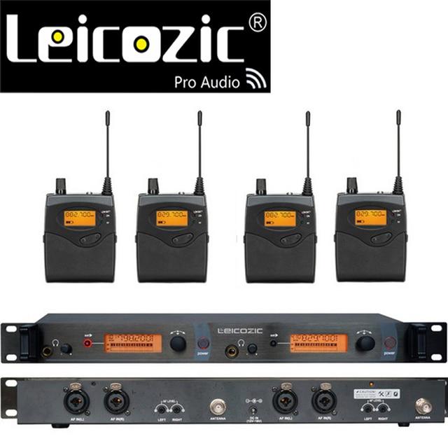 Leicozic BK2050 اللاسلكية في نظام مراقبة الأذن أنظمة مراقبة الأذن اللاسلكية نظام مراقبة المرحلة SR2050 IEM bodypack رصد