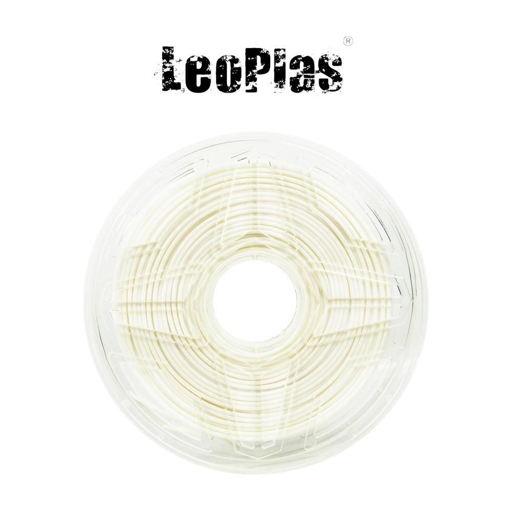 USA Hiszpania Chiny Magazyn 2.85 mm 1 kg Ultimaker Biały filament ABS do materiałów eksploatacyjnych do drukarek 3D FDM Materiał Materiały do drukowania