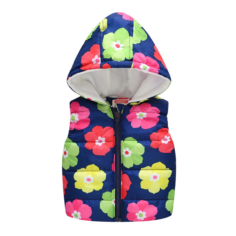 Baby Boys Girls Vest Hooded Jacket Kids Hooded Christmas Costume Clothes Children Autumn Warm Winter Waistcoat Outerwear Outfits 5