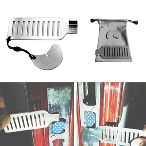 Travel Portable Self-Defense Door Lock Punch-free Hotel Apartment Security Anti-theft Hotel Accommodation Door Lock
