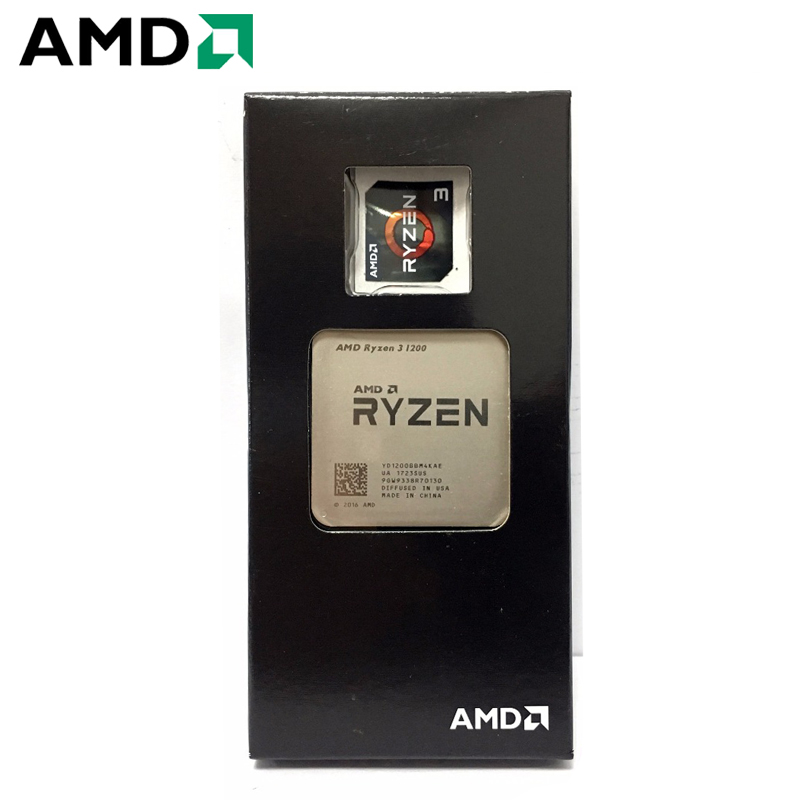 AMD Ryzen 3 1200 PC Computer Quad-Core Processor AM4 Desktop Boxed CPU 65W 3.1GHz Socket AM4
