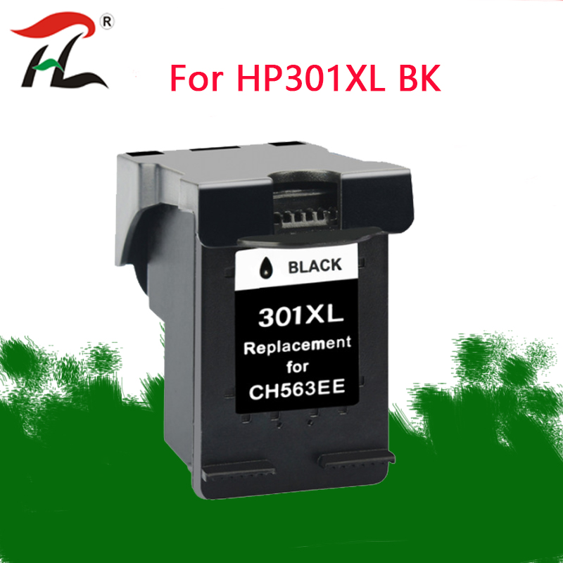 301XL Compatible  ink cartridge for HP301XL 301XL 301 CH563EE CH564EE For HP Deskjet 1000 1050 2000 2050 2510 3000 3054 printer-in Ink Cartridges from Computer & Office