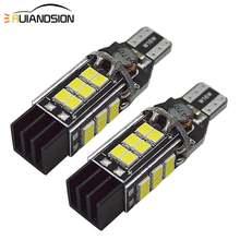 2x10 Вт 921 лм w16w t15 лампы canbus obc безошибочный светодиодный