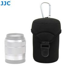 JJC Deluxe กระเป๋าใส่เลนส์ Neoprene สำหรับ Canon EF M 18 150mm 18 55mm 55  200 มม.Fujinon XF 18 55 มม.XF 23mm F1.4 XF 16 มม.F1.4