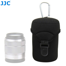 JJC Deluxe Neoprene Lens Pouch Case Bag for Canon EF M 18 150mm 18 55mm 55 200mm Fujinon XF 18 55mm XF 23mm f1.4 XF 16mm f1.4