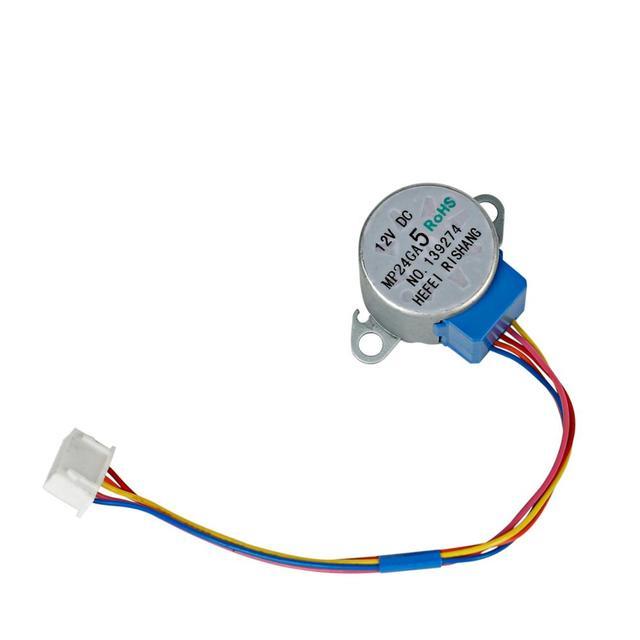מיזוג אוויר אביזרי נדנדה עלה סינכרוני מנוע עבור midea MP24GA MP24GA5 מנוע צעד 5 חוט 12V DC
