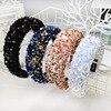 Fabric Shiny Sequin Hairband  1