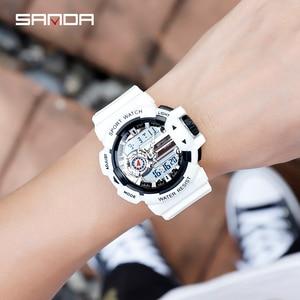 Image 5 - 2019 New Mens Military Watch Quartz Watch LED Digital Outdoor Sports Watch Men S Shock relogios masculino