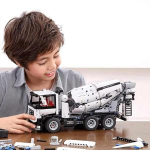 Image 5 - Mezclador de ingeniería Original Xiaomi bloque divertido disfruta de construir modelo de alta simulación un modo de cambio de tecla diseño de doble diferencial