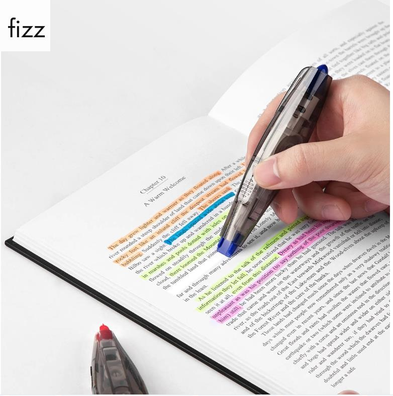 Fizz Color Press The Correction Tape Press Type Practical Correction Tapes Diary Corrector Tools Stationery School Office Supply