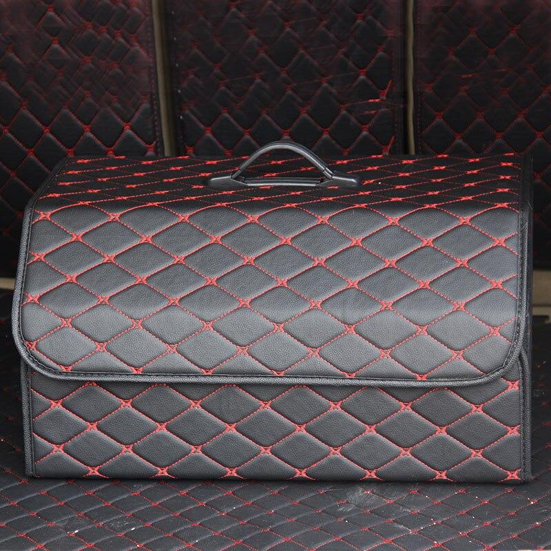 Image 3 - Car Trunk Organizer Multipurpose PU Leather Folding Car Trunk Storage Box Bags Stowing Tidying  For Car SUVStowing Tidying   -