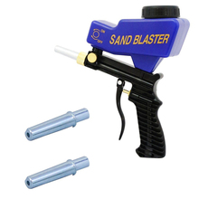 Portable Gravity Sandblasting Gun Pneumatic Sandblasting Set Rust Blasting Device Mini Sand Blasting Machine Home DIY tool