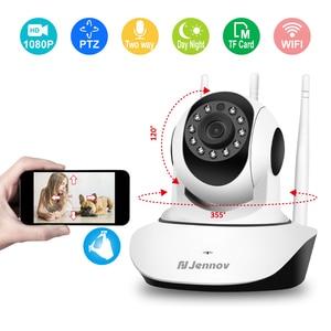 Image 2 - Jennov Surveillance Camera mini Wifi ip Camera PTZ Wireless Security CCTV Camara Wi fi Baby Monitor Two way Audio 2mp ipcamera