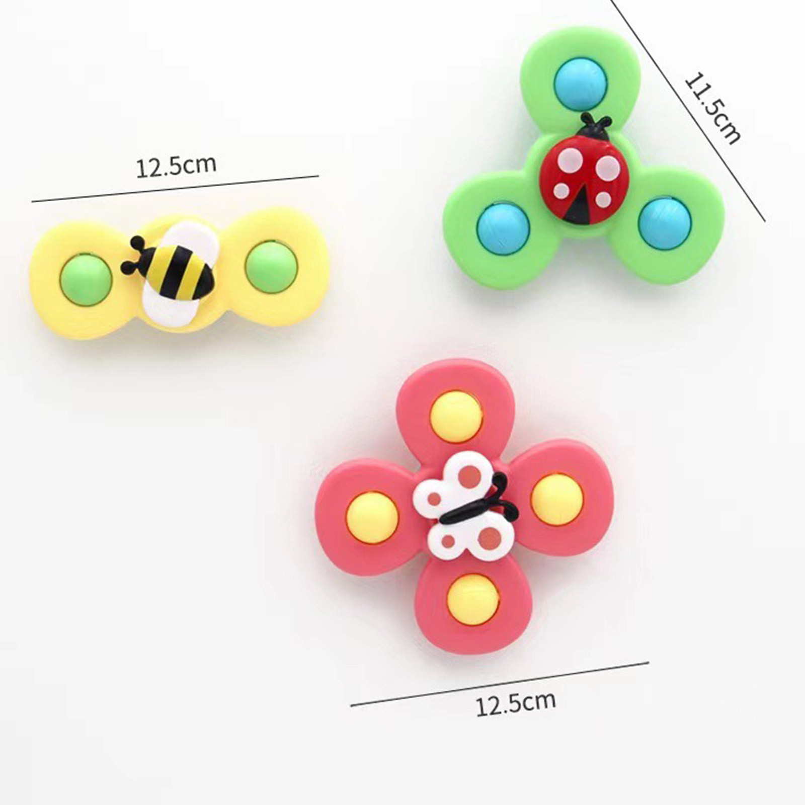 Bathroom Kids Baby Bath Toys Eating Sucker Dining Chair Artifact Children's Toy Rotating Bath Toy Windmill Fingertip Spinner enlarge