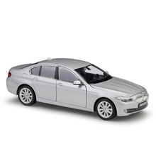 WELLY 1:24 BMW 535i grey  car alloy car model simulation car decoration collection gift toy Die casting model boy toy welly 1 24 bmw x5 car alloy car model simulation car decoration collection gift toy die casting model boy toy