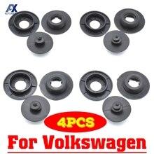 4 шт. автомобильный пол застежки для коврика для VW Все модели ковер фиксирующие зажимы держатели фиксатор крепления противоскользящие пряжки